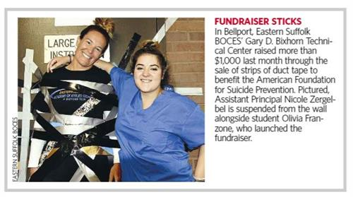 Students raise more than $1,000 through the sale of Duct Tape