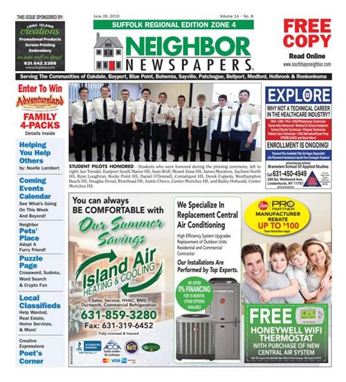 A picture showing the cover of the Neighbor Newspapers