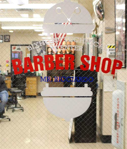 Cutting-Edge Signage for Barber Shop