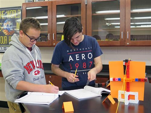 Engineering Students Design School Obstacle Course