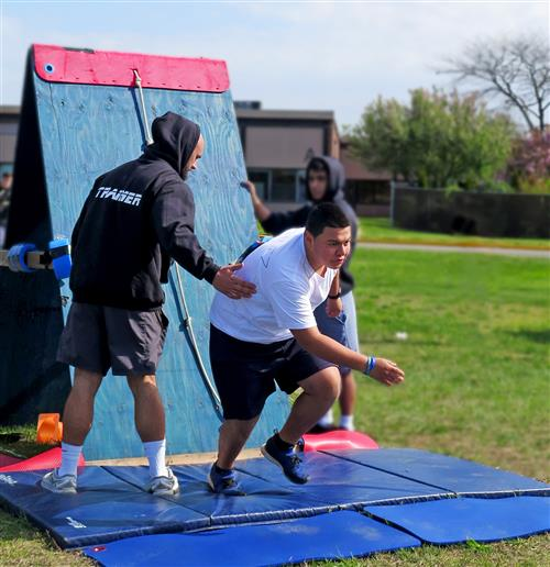 Personal Training Students Train Peers in Law Enforcement