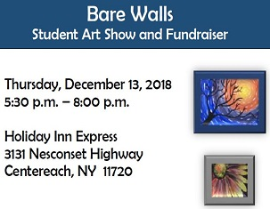 Bare Walls Student Art Show and Fundraiser