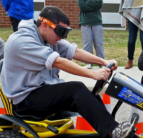 Students Learn Effects of Driving While Impaired