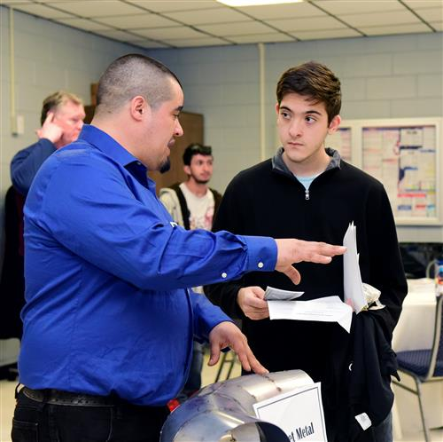 ICC Hosts Career Event for Building Trades and Auto Students