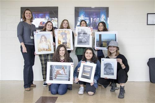 Academy Students Honored at Art Show