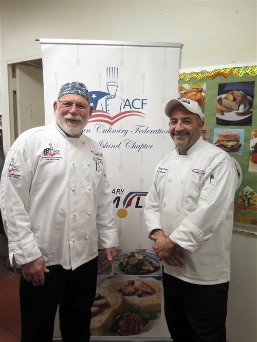 Chef Simon and Chef Kozak had the connections so the competition could take place at ESBOCES.