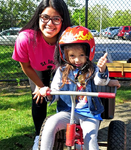 Preschoolers Pedal for a Good Cause