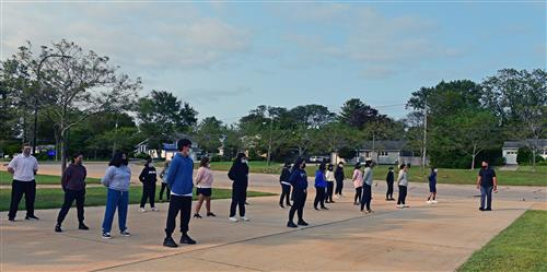 Law Enforcement Students Continue Tradition of Learning to March