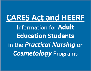 Student Application Form for Cares Act and HEERF