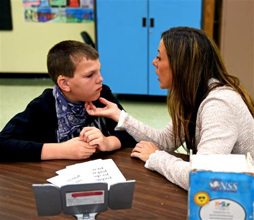 Specialized Speech Therapy for Student