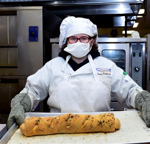 Food Prep Students Learn to Make Strombolis