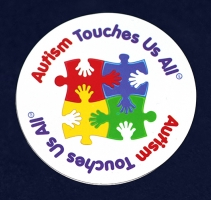 Autism touches us all magnet