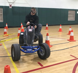 BAC Students Experience Effects of Distracted, Impaired Driving