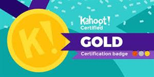 Kahoot Certification Badge